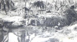 Casas destruidas en Cihuatlán