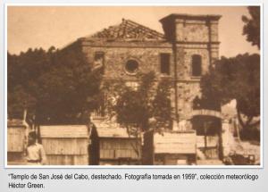 En la imagen se observa que el techo tenía caballetes de madera.