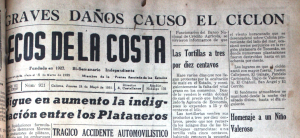 Ciclón del 19 de mayo de 1951