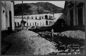 Calle del teatro Calle de San Pedro (AGHMZ)