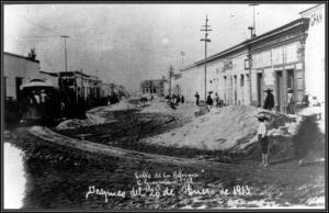 Calle de la Reforma (Imagen AGHMZ)