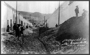 Calle la Merced (Imagen AGHMZ)